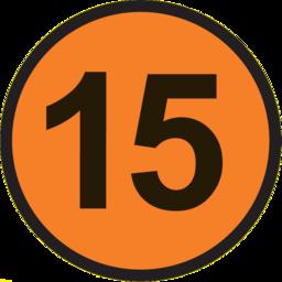 15 circle