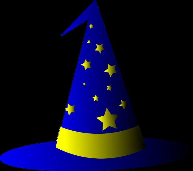wizard-hat-3361668_640