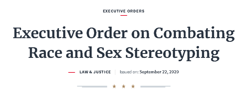Executive-Order-on-Combating-Race-and-Sex-Stereotyping-The-White-House